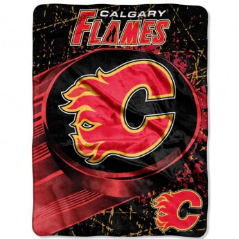 Calgary Flames Takaró Plush Micro Throw