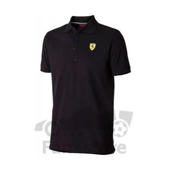 Scuderia Ferrari férfi galléros póló nero