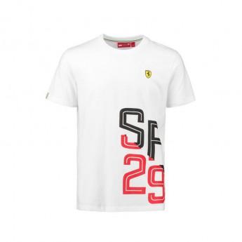 Scuderia Ferrari férfi póló white SF 29 F1 Team 2018