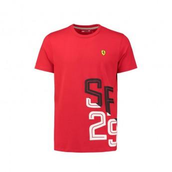 Scuderia Ferrari férfi póló black SF 29 F1 Team 2018