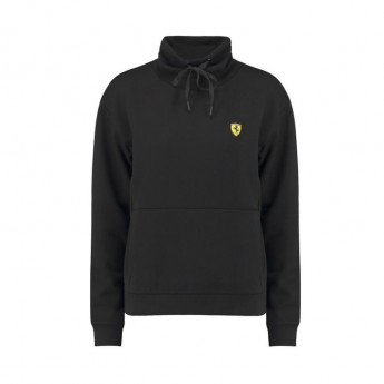 Ferrari női pulóver Funnel Neck black F1 Team 2018