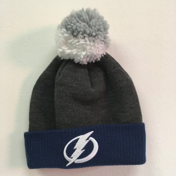 Tampa Bay Lightning Téli sapka FaceOff Basic Cuffed Pom
