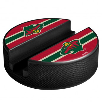 Minnesota Wild Telefon tartó Puck Media Holder