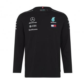 Mercedes AMG Petronas férfi póló Longsleeve black F1 Team 2018