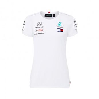 Mercedes AMG Petronas női póló white F1 Team 2018