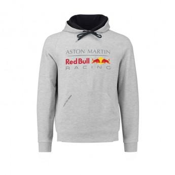 Red Bull Racing férfi kapucnis pulóver grey 2018