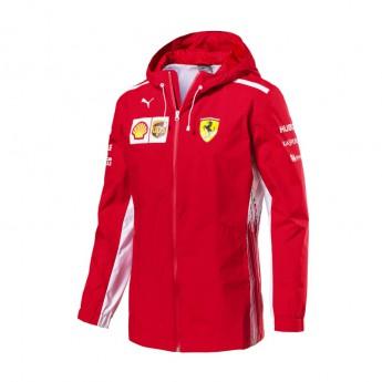 Ferrari férfi kapucnis kabát Rain red F1 Team 2018