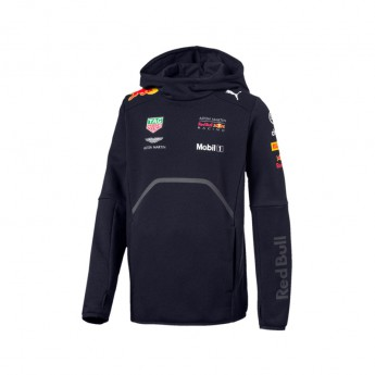 Red Bull Racing gyerek kapucnis pulóver Hoodie navy F1 Team 2018