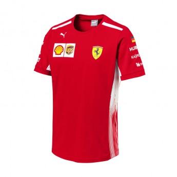Puma Ferrari férfi póló Sebastian Vettel red F1 Team 2018