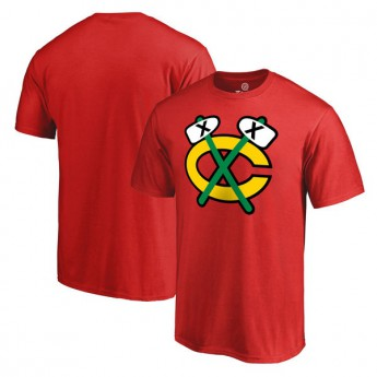 Chicago Blackhawks Gyerek póló Primary Logo - Red