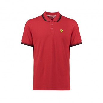 Ferrari férfi galléros póló Scuderia Collar red F1 Team 2018