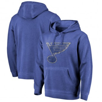 St. Louis Blues férfi pulóver shadow Washed Logo Pullover Hoodie