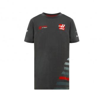 Haas F1 Team gyerek póló grey 2018