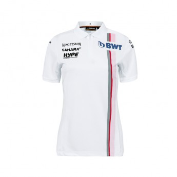Force India női galléros póló white Sahara F1 Team 2018