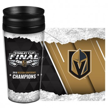 Vegas Golden Knights termo bögre 2018 Western Conference Champions