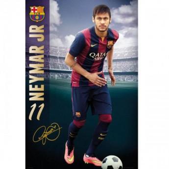 Barcelona Poszter Neymar