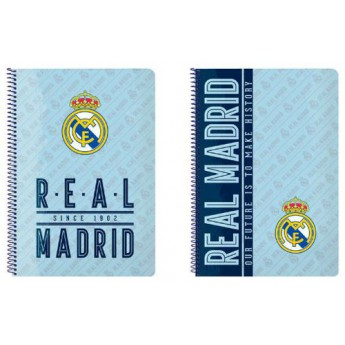 Real Madrid A4 munkafüzet since 1902 light blue