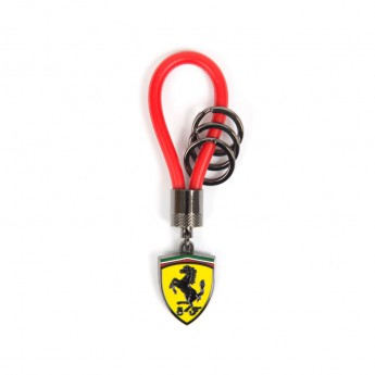 Ferrari függő Rubber Strap F1 Team Red 2018