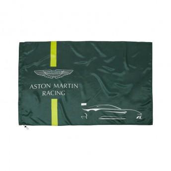 Aston Martin zászló green 2018