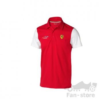 Scuderia Ferrari férfi galléros póló Alonso