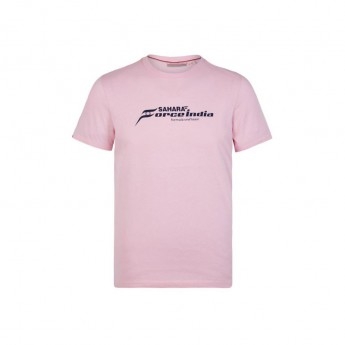 Force India férfi póló pink Logo Sahara F1 Team 2018