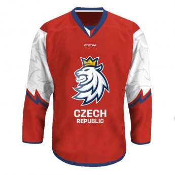 Jégkorong képviselet hoki mez Czech Republic red fan