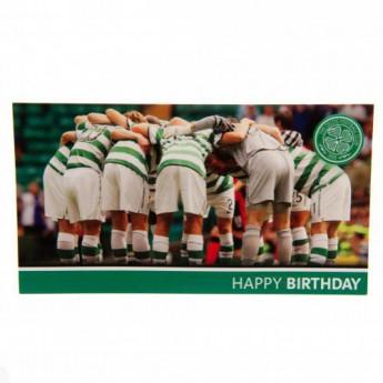 FC Celtic születésnapi köszöntő Birthday Card Huddle