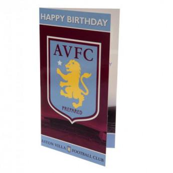 Aston Villa születésnapi köszöntő Birthday Card