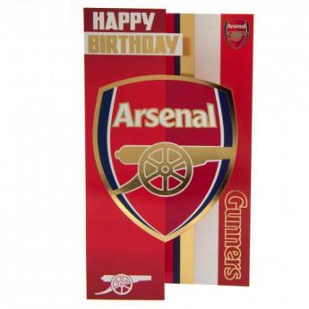 FC Arsenal születésnapi köszöntő Birthday Card