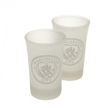 Manchester City féldecis pohár 2pk Shot Glass Set FR