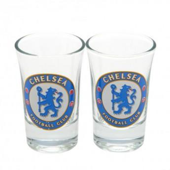 FC Chelsea féldecis pohár 2pk Shot Glass Set
