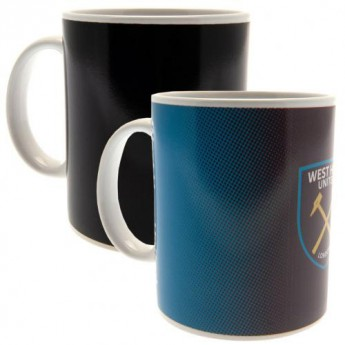 West Ham United bögre Heat Changing Mug