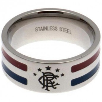 FC Rangers gyűrű Colour Stripe Ring Large