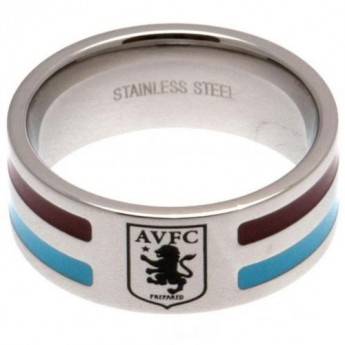 Aston Villa gyűrű Colour Stripe Ring Small