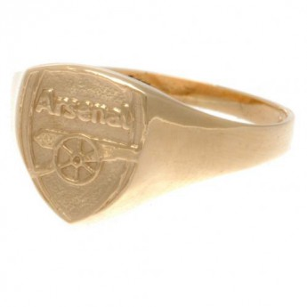 FC Arsenal gyűrű 9ct Gold Crest Small