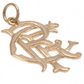FC Rangers arany medál 9ct Gold Pendant Large