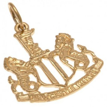 Newcastle United arany medál 9ct Gold Pendant