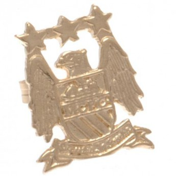 Manchester City fülbevaló 9ct Gold Earring EC