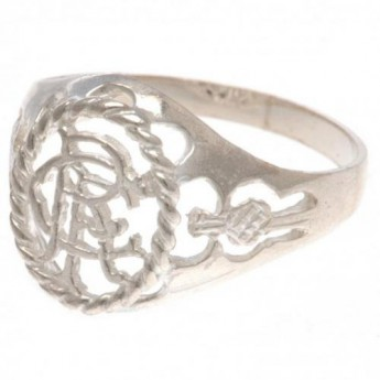 FC Rangers gyűrű Sterling Silver Ring Medium