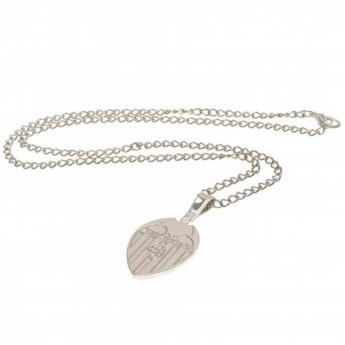 Valencia nyaklánc medállal Silver Plated Pendant & Chain