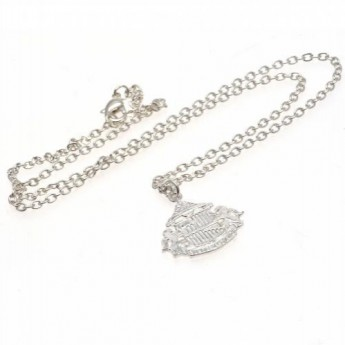 Sunderland nyaklánc medállal Silver Plated Pendant & Chain