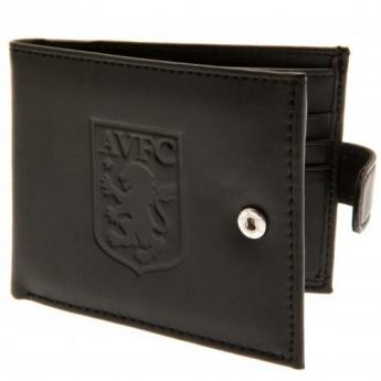 Aston Villa bőr pénztárca Anti Fraud Wallet