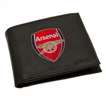 FC Arsenal technikai bőr pénztárca Embroidered Wallet