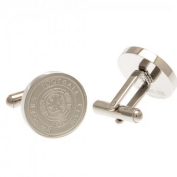 FC Rangers mandzsettagomb Stainless Steel Cufflinks CR