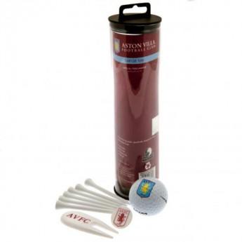 Aston Villa golf készlet Golf Gift Tube
