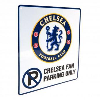 FC Chelsea fém tábla No Parking Sign