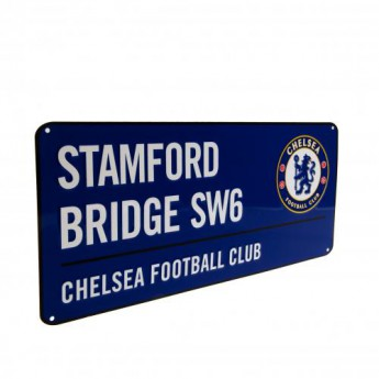 FC Chelsea fém tábla Street Sign BL
