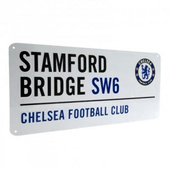 FC Chelsea fém tábla Street Sign