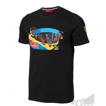 Scuderia Ferrari Nero férfi póló