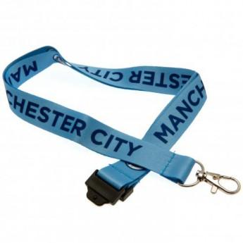 Manchester City kulcstartó Lanyard